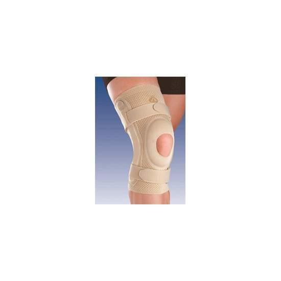 BREATHABLE apoio do joelho elástico com SILICONE CABEÇA impulsor aberto e lâminas METAL COM 8107 joint policêntrico