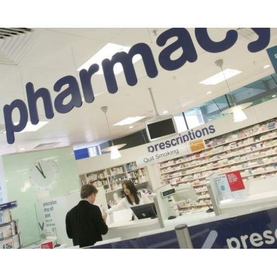 PHARMACY IN THE SUPERMARKET