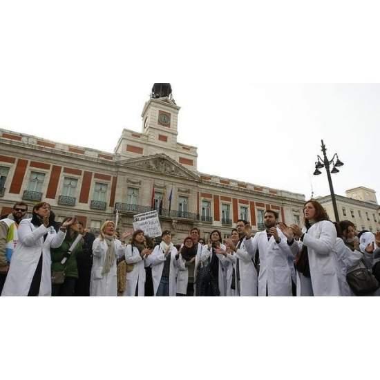 SPANIAARDEN ZETTEN EEN GRAFIEK VAN 6,5 VOOR DE SPAANSE GEZONDHEID