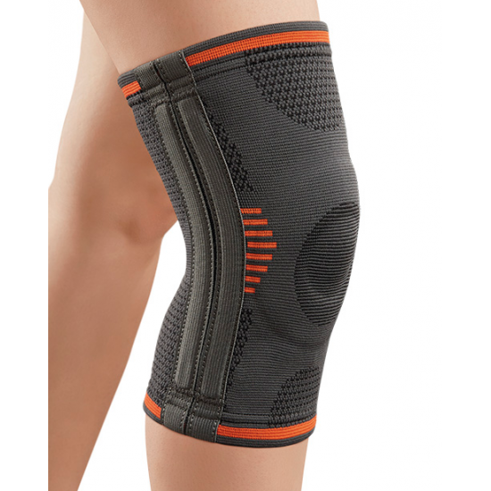 KNEE STRETCH WITH SIDE STABILIZERS AND PILLOW GEL