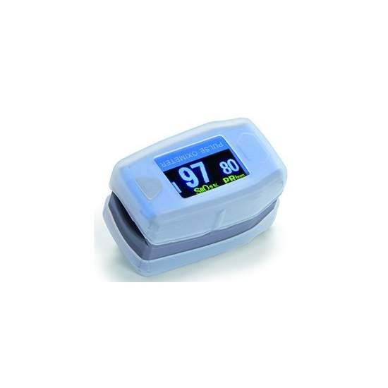 Fingertip oximeter plethysmographic waveform WITH PEDIATRIC