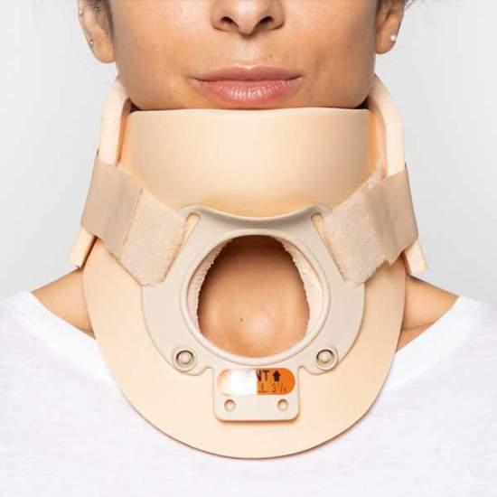 Rigid collar type...