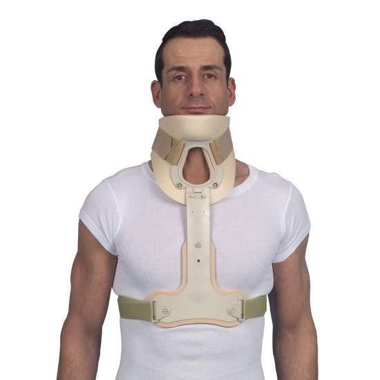 Stabilizer for neck brace type philadelphia 961