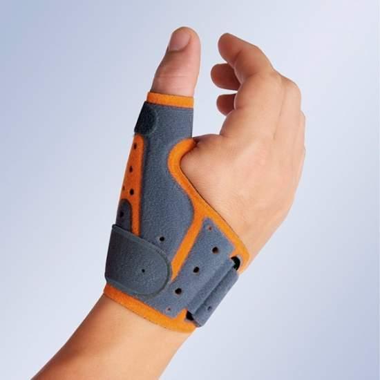 THUMB SPLINT immobilizing TRANSPIRABLE (ambidextrous)