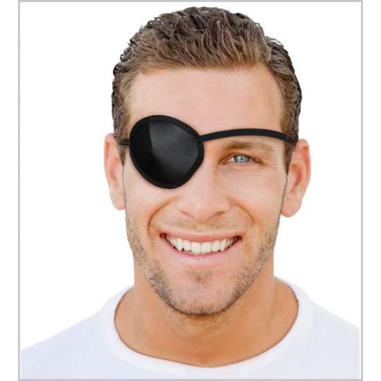 Parche para ojo (color negro) - Parche para ojo.