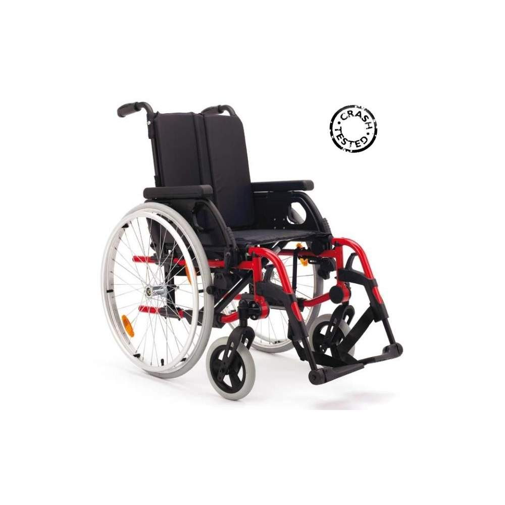 Rubix 2 Folding wheelchair -  The active wheelchair BREEZY Rubix 2 incorporates multiple possibilities of adjustments and adaptations. It allows to regulate: the depth, height and angle of the seat,...
