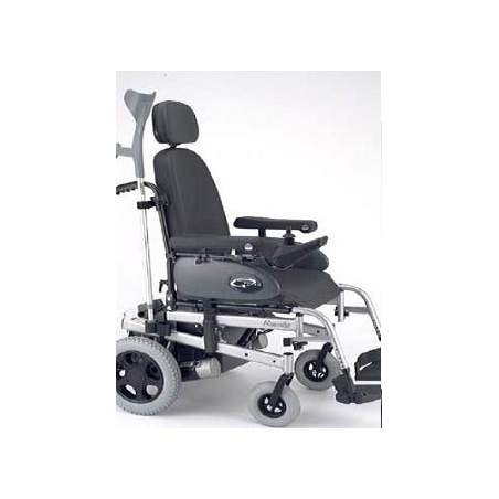 Crutch holder for power chair Rumba
