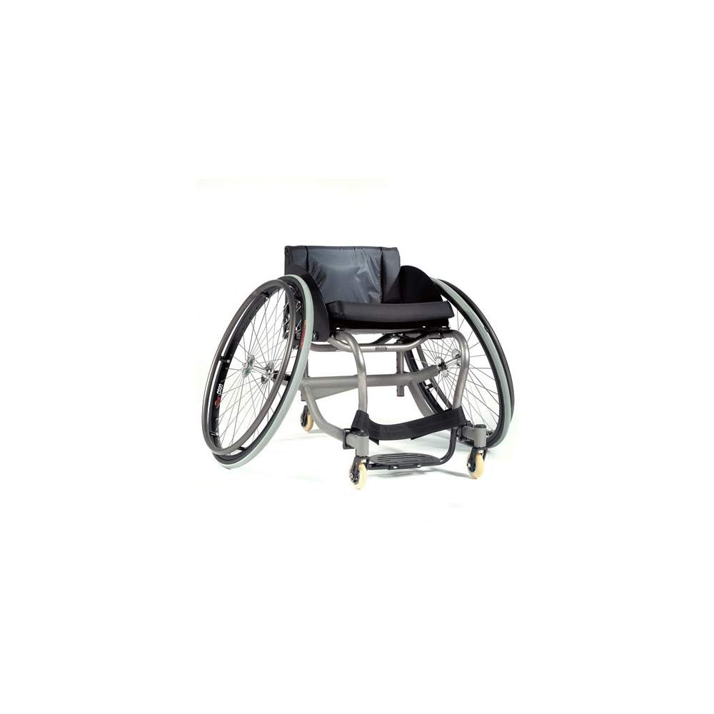 Sports Chair aluminum Ti Match Point - Chair for tennis and paddle sports with titanium frame