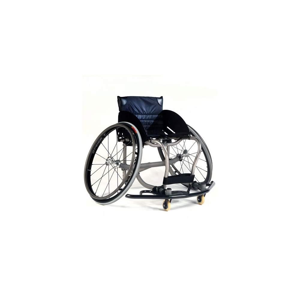 Sport sedia leggera in titanio Ti All Court - Sport sedia per la pratica di basket con telaio in titanio