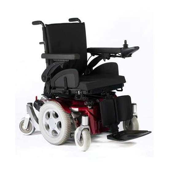 Eletrônico cadeira Quickie Salsa M - Excelente manobrabilidade dentro de casa, com um grande desempenho ao ar livre                    Seg.Social Código Provisão 12212703