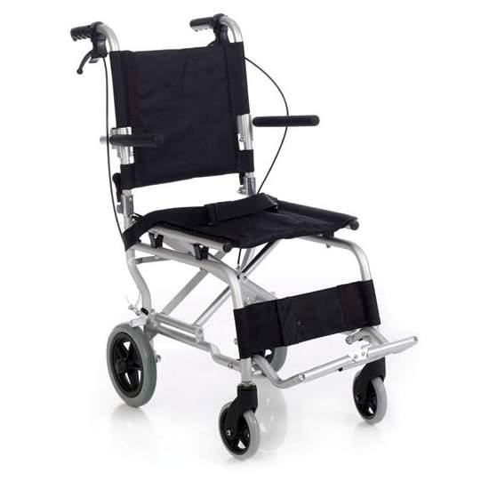 CADEIRA DE TRÂNSITO MINITRANS - Cadeira de alumínio com transporte de tráfegoDisposição do Código12210006