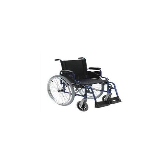 Ação de aço da cadeira 1 autopropulsable - A cadeira de aço é leve e de alta qualidade.