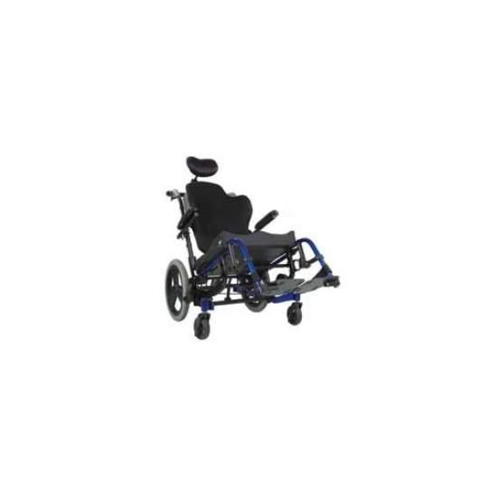 POSIZIONAMENTO CARROZZINA IRIS - La Quickie IRIS presenta un design innovativo che permette al sedile di ruotare rispetto alla base, in modo che l'utente centro di gravità rimane costante quando viene inclinato.