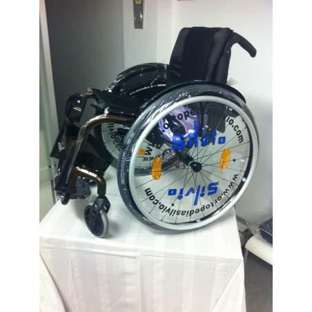 Silvio Ortopedia collabora con Teresa Perales con una sedia a rotelle