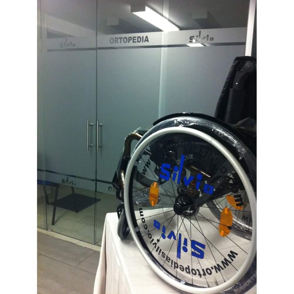 Ortopedia silvio colabora con teresa perales con una silla de ruedas - Ortopedia silla de ruedas ...