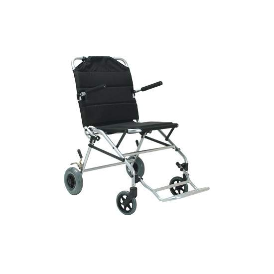 SILLA DE TRANSITO COMPACT - Supplied with 125 mm diameter wheels and seat belts. Widely used to evacuate people in case of emergency or narrow corridors.Code provision 12210006