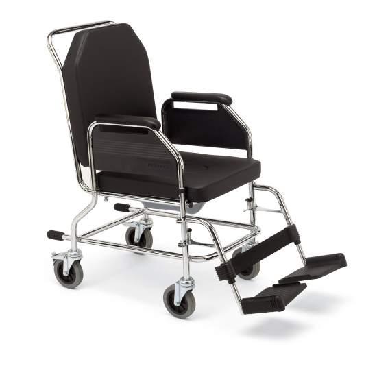 Cadeira casa Aço - Cadeiras fixas estrutura com banheiro. Indicado para rodas interior.Con (110 mm), e de backup regular.  Disposição do Código12210006