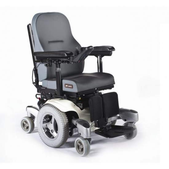 Quickie Jive - Electric Wheelchair - The Quickie electric wheelchair is a chair Jive completely modular, designed to fully adjust to the needs of the user, lifestyle, and environment. Excellent outdoor performance without sacrificing maneuverability indoors.