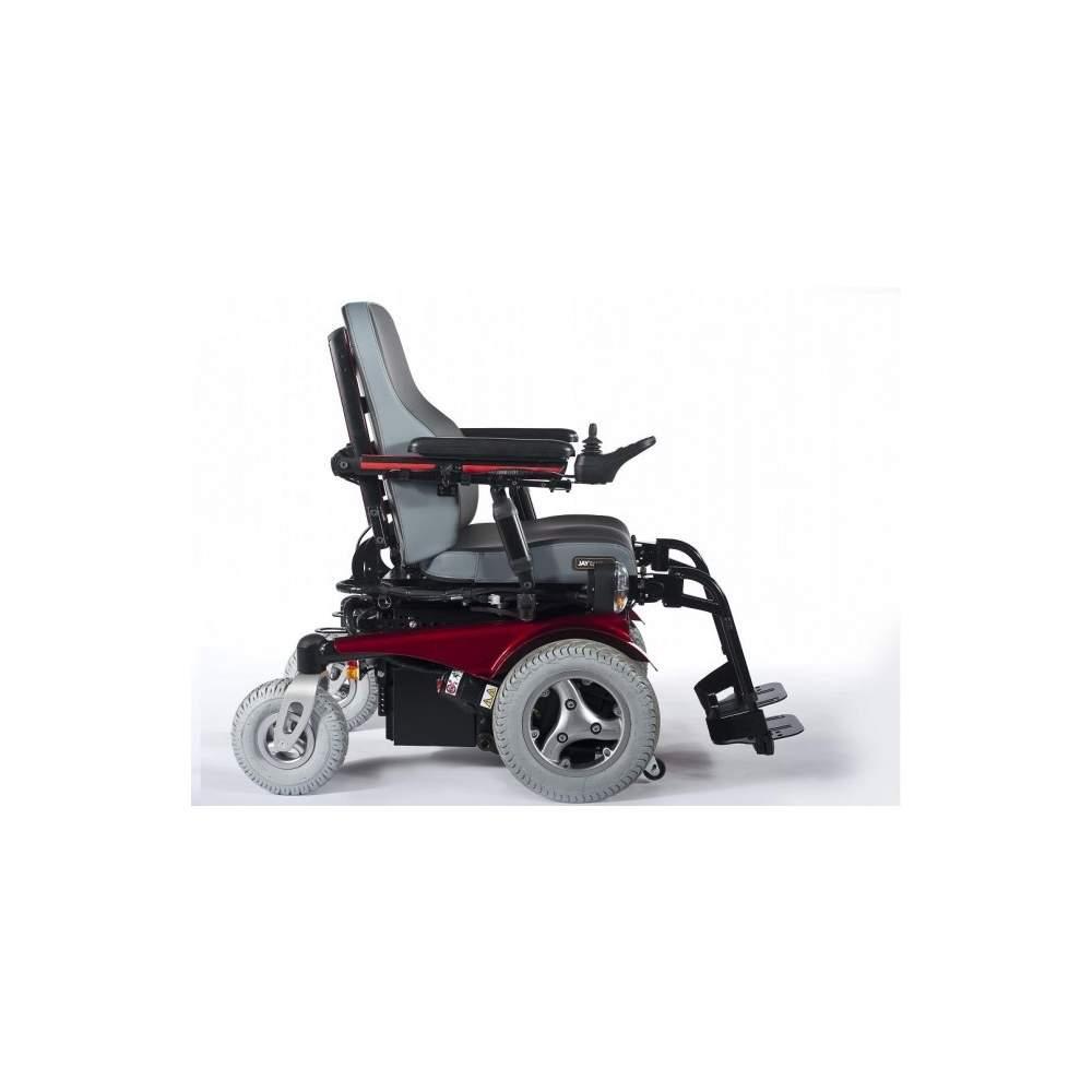 Quickie jive silla de ruedas el ctrica for Silla de ruedas electrica