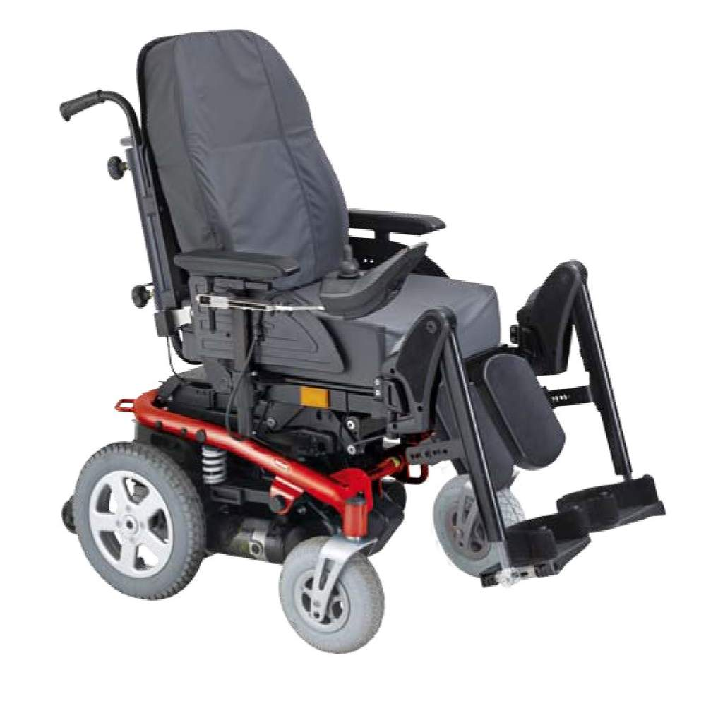 Invacare Bora Plus - Electronic chair recline and tilt electricElectric wheelchair Bora Plus with back recline and tilt power seat as standard.