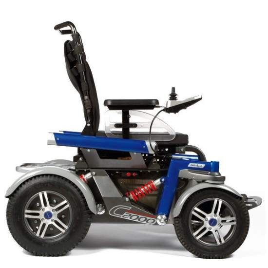 Otto Bock C2000 power wheelchair for outdoor