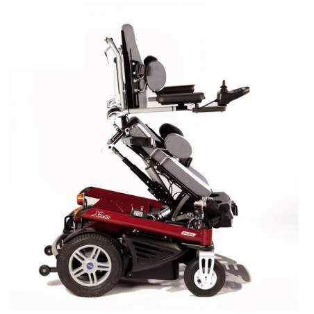 Otto Bock Xeno, Permanente da cadeira de rodas elétrica