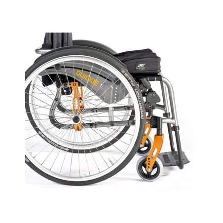 Aluminum Wheelchair Quickie Life R