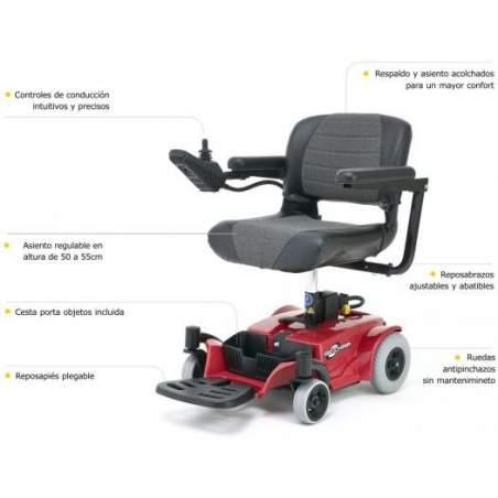 Ir Presidente cadeira de rodas eléctrica