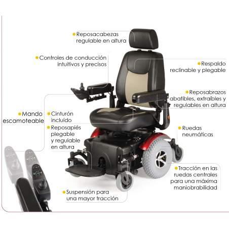 Electric Wheelchair Aid R320 Dynamics