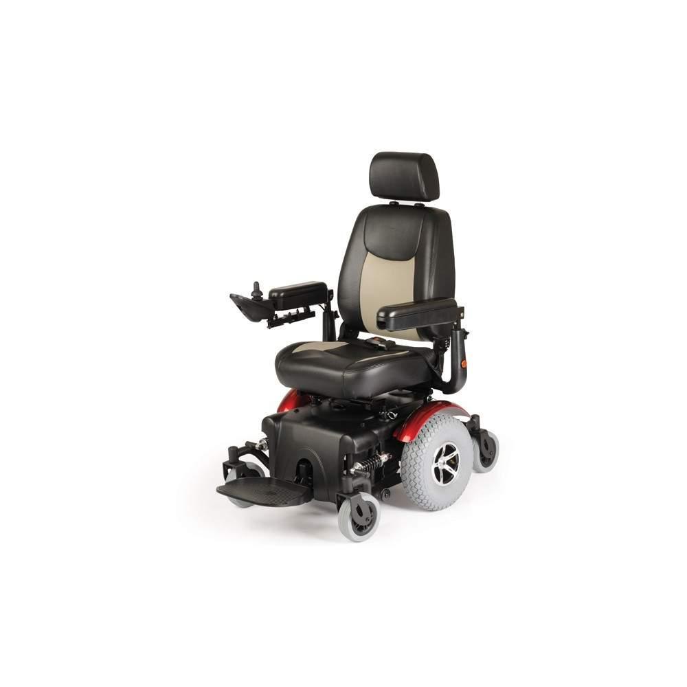 Sedia a rotelle elettrica Aid R320 Dynamics - Generazione Carrozzina elettronica.È dotato di movimento indipendente delle 6 ruote, che fa manovra e rende questa sedia una sedia molto speciale.Ideale per uso interno ed...