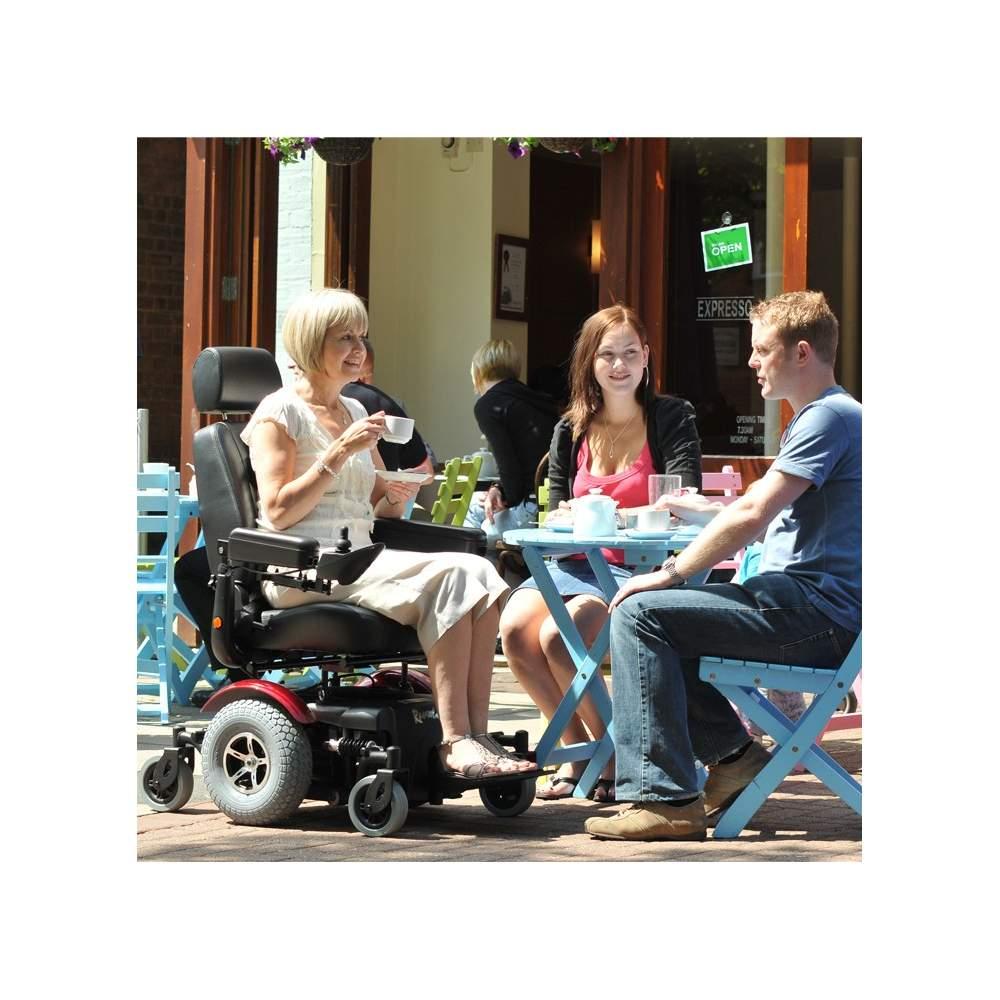 Sedia a rotelle elettrica aid r320 dynamics for Sedia elettrica youtube