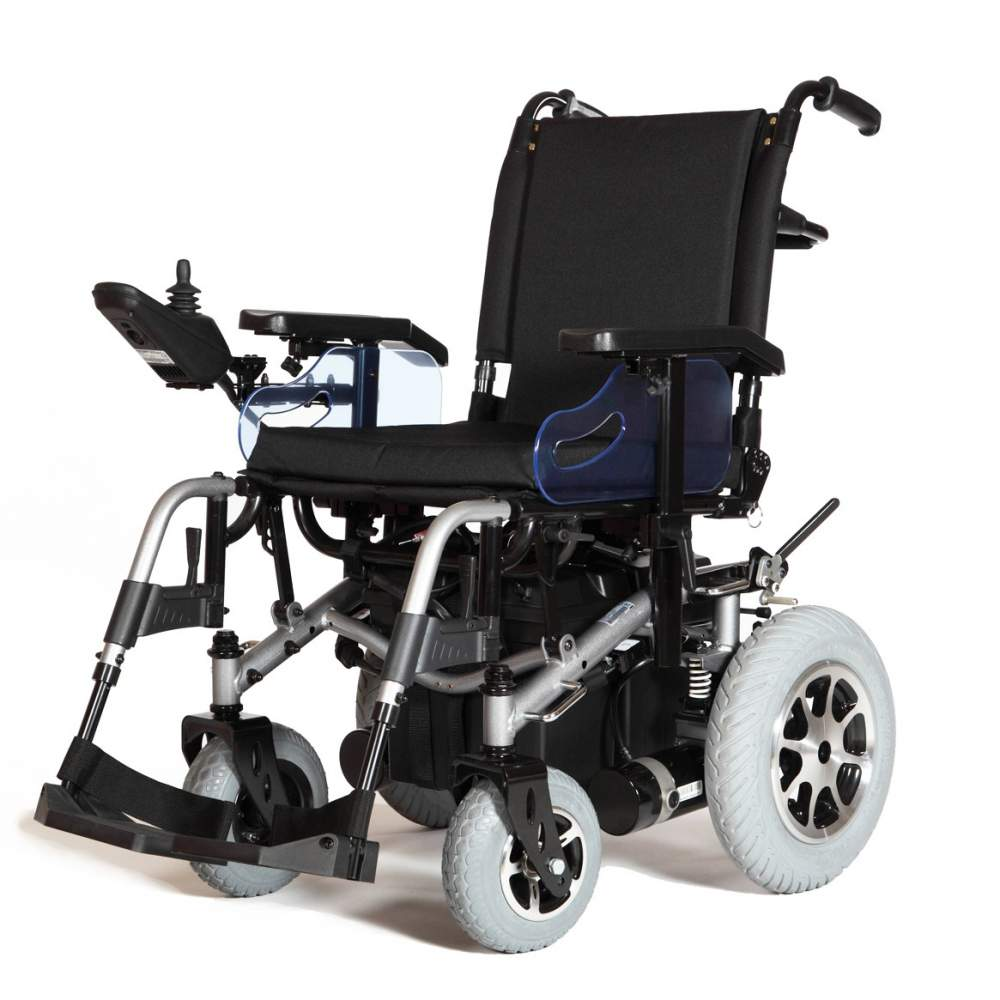 Electronic Aids Chair R220 Dynamics - The electric wheelchair R220 stands for reliability, versatility, power, elegance and comfort.This model of power wheelchair is designed so that nothing can resist you, ni long...