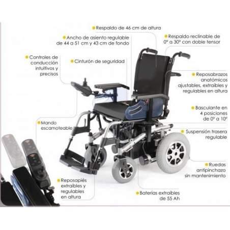 Silla electronica R220 Ayudas Dinámicas