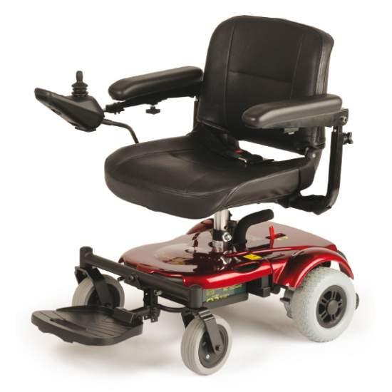 Silla de ruedas eléctrica R120 - La silla eléctrica R120 representa la próxima generación de sillas eléctricas compactas y ligeras. Código Prestación 12212703