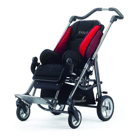Jazz Cadeiras de rodas 2 - O passeio postural cadeira de balanço e dobrável que cresce com a criança (tamanho 2)