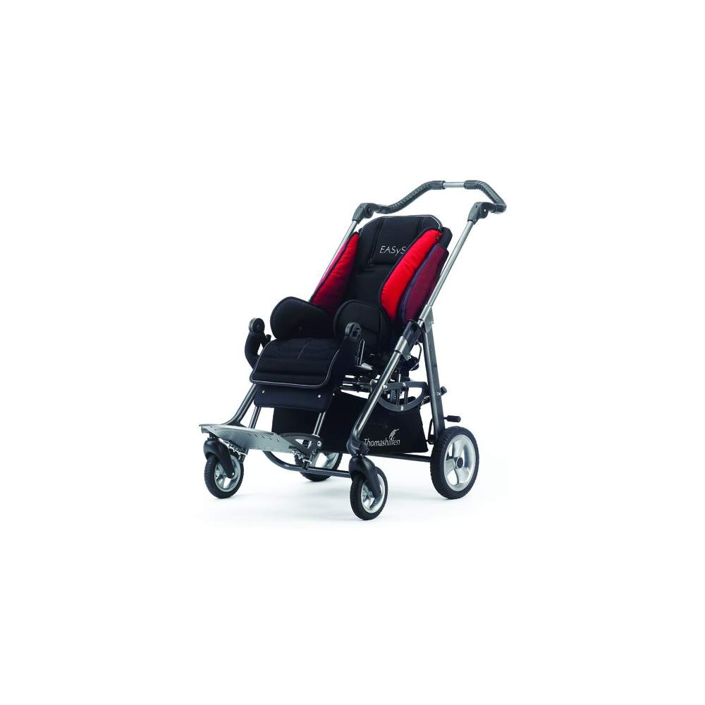 Wheelchairs Jazz 2 - The rocking chair and folding postural ride that grows with the child (size 2)
