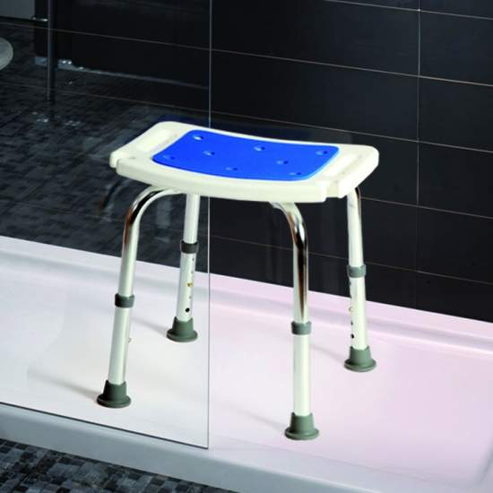 Aluminum stool Soft Samba - Aluminum stools Soft Samba are designed especially for use in the bathroom.