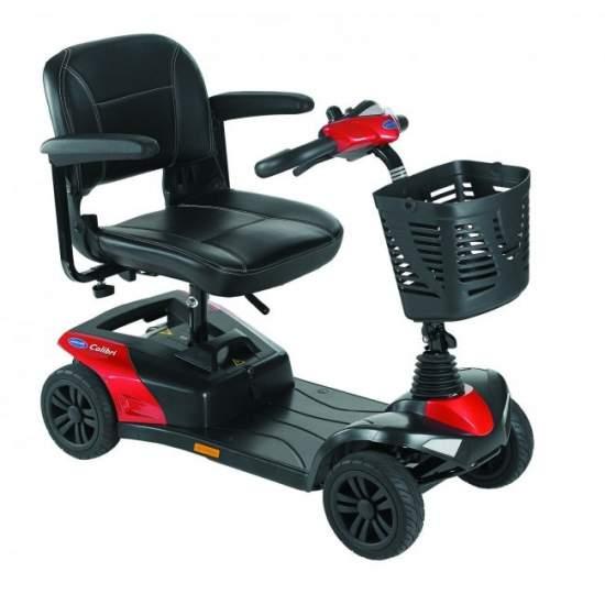 Scooter Invacare Colibri - Invacare Colibri: más fácil de transportar y con mayor rendimiento en exteriores