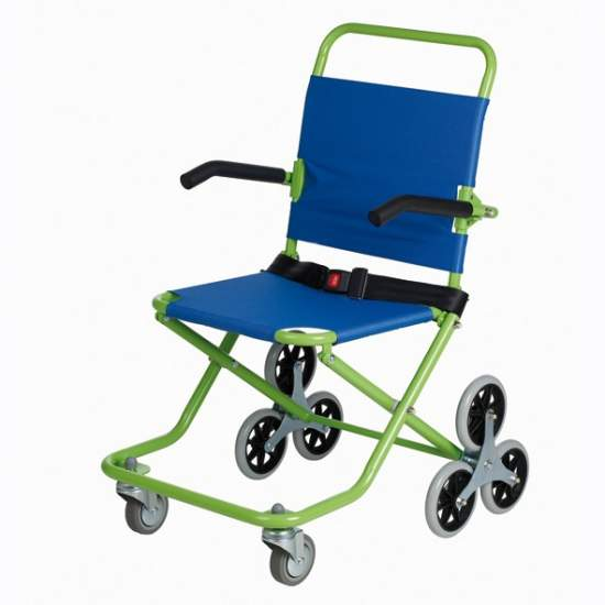 Evacuation Chair Roll Over AD825 - Chair to evacuate people in an emergency or when people need to move through narrow or inaccessible places, such as floors without elevator.