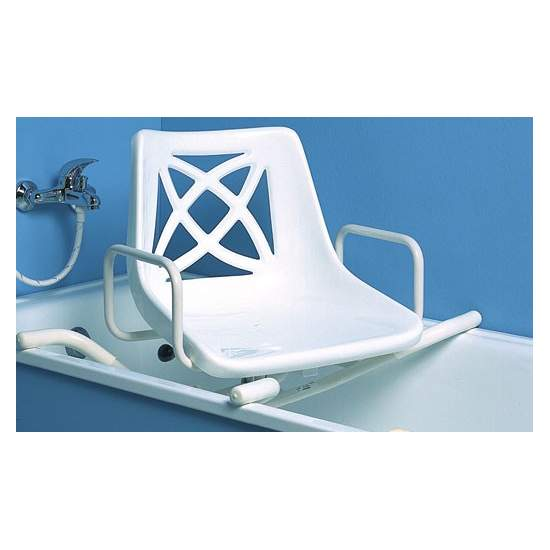 STAINLESS STEEL SWIVEL SEAT - Swivel seat made of stainless steel, with similar features as the AD536I economic version, designed for shorter periods of use.