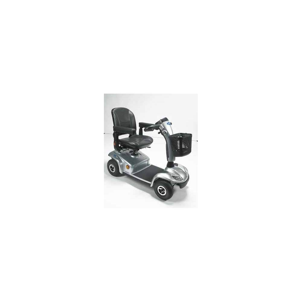 Invacare Leo Scooter 4 wheel 2014 - The Invacare Leo is a 4-wheel scooter redesigned this year 2014 for users who value their independence and autonomy. Safety is a key feature of the Leo, without sacrificing a...