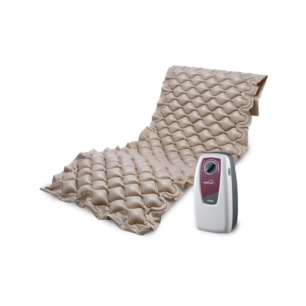 Domus 1 Pressure Relief Mattress - The DOMUS 1 has a surface suitable alternating pressure to treat pressure ulcers grade I.
