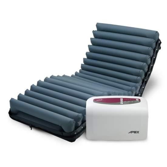 Colchón antiescaras Apex Domus Auto - Sistema de colchón de reemplazo de presión alternante y ajuste automático.
