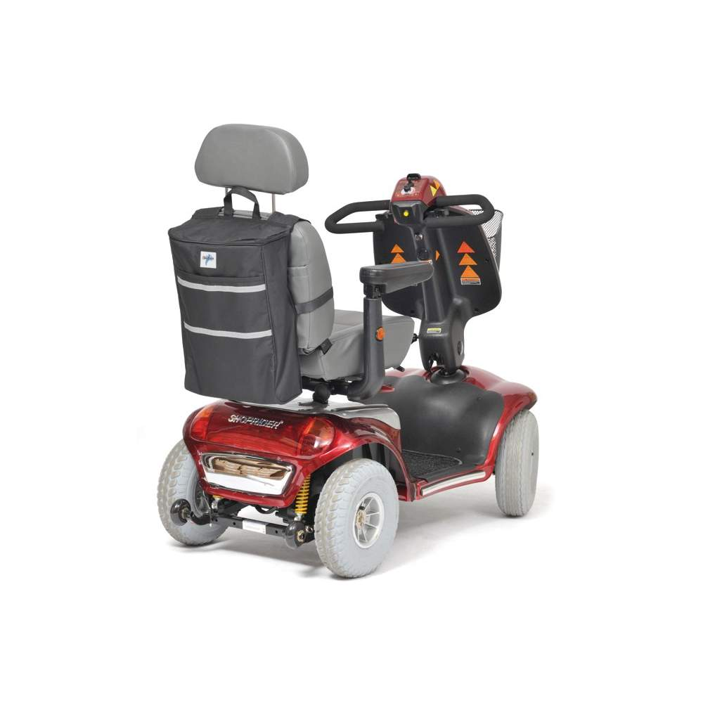 Bolsa para scooter H8620 - Amplia y resistente bolsa. Especialmente diseñada para scooters. Se adapta perfectamente a los asientos, con cabecero o sin cabecero. Color ,negro.