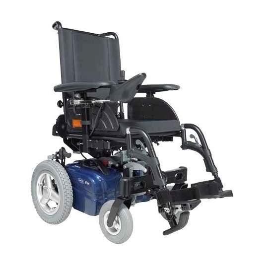 Invacare Fox, Silla electrónica plegable - La nueva Invacare® Fox™ es una silla electrónica plegable, de dimensiones reducidas, ligera y muy compacta que se sirve de las últimas innovaciones para hacer más fácil la vida diaria de los usuarios de sillas de ruedas.