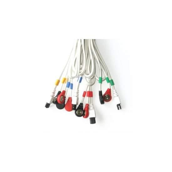 Cabos conectar COMPEX pressão 6P (branco)