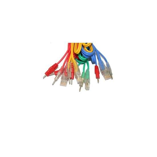 Compex Juego de 4 Cables 8P - CONEXIÓN WIRE