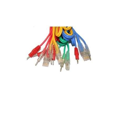 Compex Ensemble de 4 câbles 6P - FIL DE CONNEXION