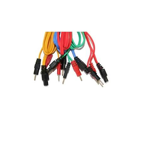 Compex Set di 4 cavi 6P - COLLEGAMENTO FILO