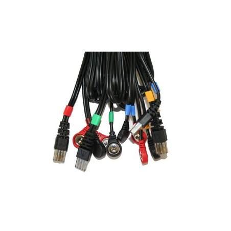 Câbles connexion COMPEX snap 8P